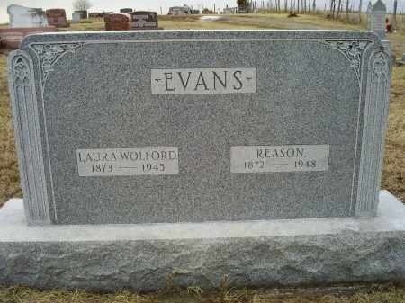 WOLFORD EVANS, LAURA - Ross County, Ohio | LAURA WOLFORD EVANS - Ohio Gravestone Photos
