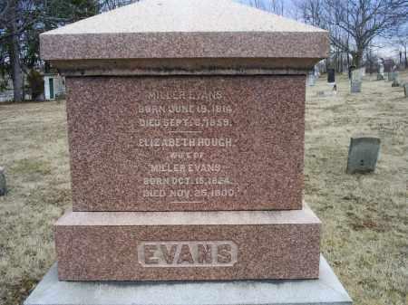 EVANS, ELIZABETH - Ross County, Ohio | ELIZABETH EVANS - Ohio Gravestone Photos
