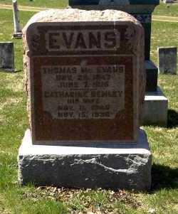 REMLEY EVANS, CATHERINE - Ross County, Ohio | CATHERINE REMLEY EVANS - Ohio Gravestone Photos