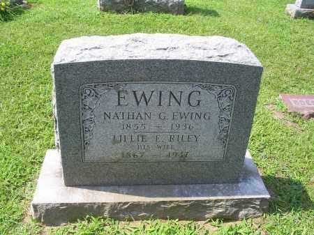 EWING, NATHAN G. - Ross County, Ohio | NATHAN G. EWING - Ohio Gravestone Photos