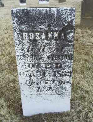 EYESTONE, ROSANNA - Ross County, Ohio   ROSANNA EYESTONE - Ohio Gravestone Photos