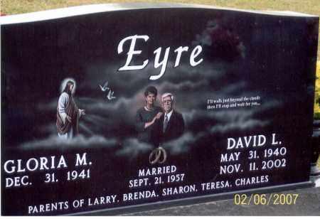 EYRE, DAVID L. - Ross County, Ohio | DAVID L. EYRE - Ohio Gravestone Photos