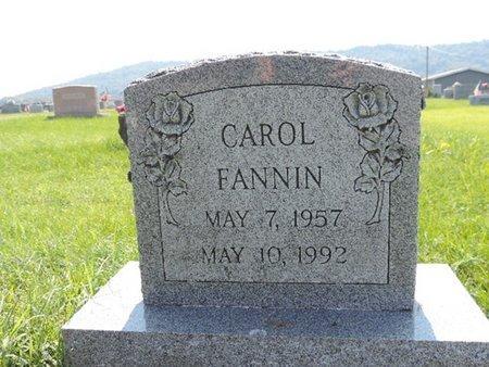 FANNIN, CAROL - Ross County, Ohio | CAROL FANNIN - Ohio Gravestone Photos