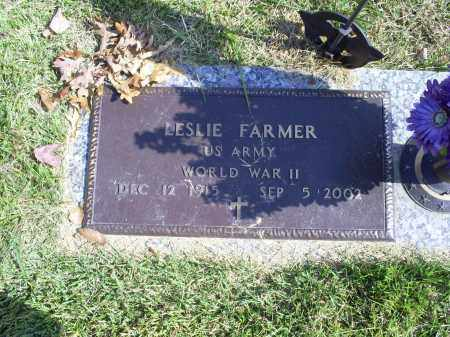 FARMER, LESLIE - Ross County, Ohio | LESLIE FARMER - Ohio Gravestone Photos