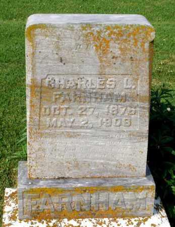 FARNHAM, CHARLES L. - Ross County, Ohio | CHARLES L. FARNHAM - Ohio Gravestone Photos