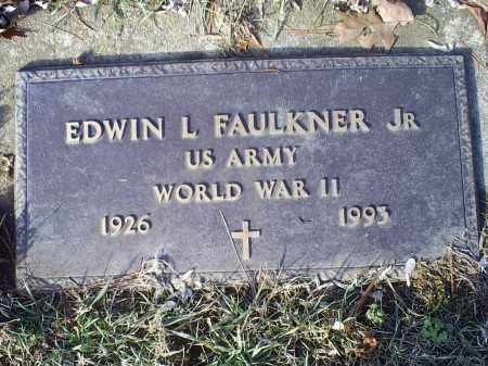 FAULKNER, EDWIN L. JR. - Ross County, Ohio | EDWIN L. JR. FAULKNER - Ohio Gravestone Photos