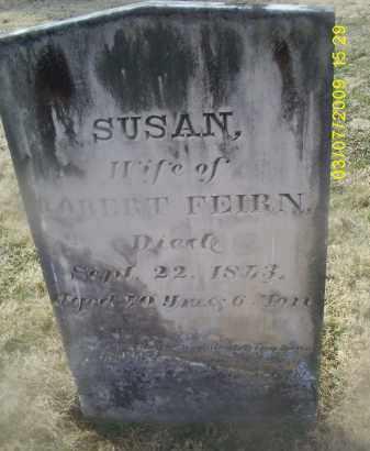 FEIRN, SUSAN - Ross County, Ohio   SUSAN FEIRN - Ohio Gravestone Photos