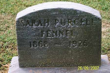 PURCELL FENNEL, SARAH - Ross County, Ohio | SARAH PURCELL FENNEL - Ohio Gravestone Photos