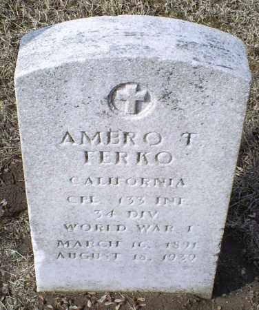 FERKO, AMERO T. - Ross County, Ohio | AMERO T. FERKO - Ohio Gravestone Photos