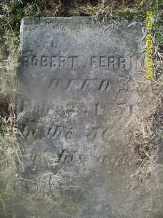 FERRIN, ROBERT - Ross County, Ohio   ROBERT FERRIN - Ohio Gravestone Photos