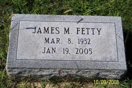 FETTY, JAMES M. - Ross County, Ohio | JAMES M. FETTY - Ohio Gravestone Photos