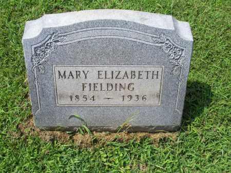 FIELDING, MARY ELIZABETH - Ross County, Ohio | MARY ELIZABETH FIELDING - Ohio Gravestone Photos