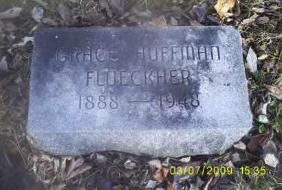 FLOECKHER, GRACE - Ross County, Ohio | GRACE FLOECKHER - Ohio Gravestone Photos