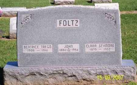 FOLTZ, CLARA - Ross County, Ohio | CLARA FOLTZ - Ohio Gravestone Photos