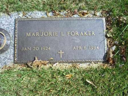 FORAKER, MARJORIE L. - Ross County, Ohio | MARJORIE L. FORAKER - Ohio Gravestone Photos