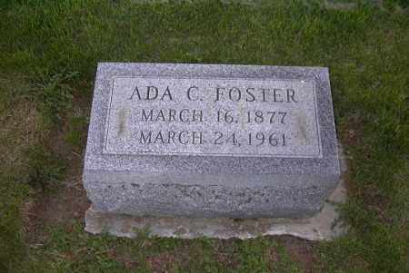 FOSTER, ADA C. - Ross County, Ohio | ADA C. FOSTER - Ohio Gravestone Photos
