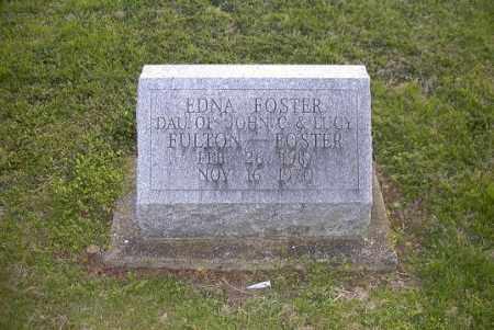 FOSTER, EDNA - Ross County, Ohio   EDNA FOSTER - Ohio Gravestone Photos
