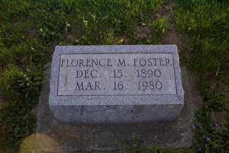 FOSTER, FLORENCE M. - Ross County, Ohio   FLORENCE M. FOSTER - Ohio Gravestone Photos