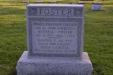 FOSTER, MARTHA F. - Ross County, Ohio | MARTHA F. FOSTER - Ohio Gravestone Photos