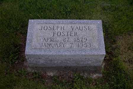 FOSTER, JOSEPH VAUSE - Ross County, Ohio   JOSEPH VAUSE FOSTER - Ohio Gravestone Photos