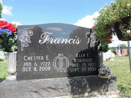 FRANCIS, ELLA F. - Ross County, Ohio   ELLA F. FRANCIS - Ohio Gravestone Photos