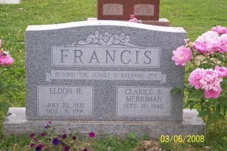 FRANCIS, ELDON R. - Ross County, Ohio | ELDON R. FRANCIS - Ohio Gravestone Photos
