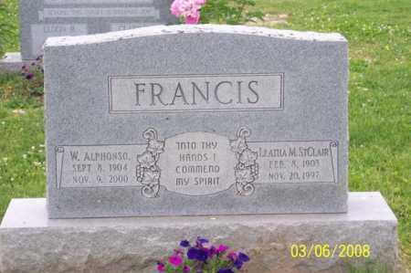 FRANCIS, LEATHA M. - Ross County, Ohio | LEATHA M. FRANCIS - Ohio Gravestone Photos