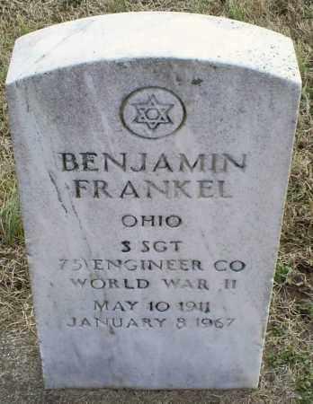 FRANKEL, BENJAMIN - Ross County, Ohio   BENJAMIN FRANKEL - Ohio Gravestone Photos