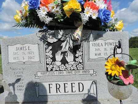 FREED, JAMES E. - Ross County, Ohio | JAMES E. FREED - Ohio Gravestone Photos