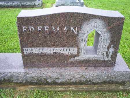 FREEMAN, MARGARET E. - Ross County, Ohio | MARGARET E. FREEMAN - Ohio Gravestone Photos