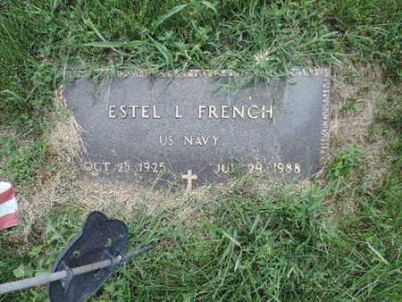 FRENCH, ESTEL L - Ross County, Ohio   ESTEL L FRENCH - Ohio Gravestone Photos