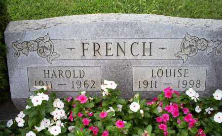 FRENCH, LOUISE - Ross County, Ohio | LOUISE FRENCH - Ohio Gravestone Photos