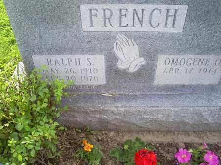 FRENCH, RALPH S. - Ross County, Ohio | RALPH S. FRENCH - Ohio Gravestone Photos