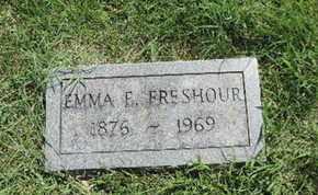 FRESHOUR, EMMA E - Ross County, Ohio   EMMA E FRESHOUR - Ohio Gravestone Photos