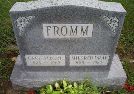 FROMM, CARL ALBERT - Ross County, Ohio | CARL ALBERT FROMM - Ohio Gravestone Photos