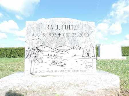 FULTZ, IRA J. - Ross County, Ohio   IRA J. FULTZ - Ohio Gravestone Photos