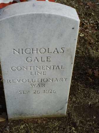 GALE, NICHOLAS - Ross County, Ohio | NICHOLAS GALE - Ohio Gravestone Photos