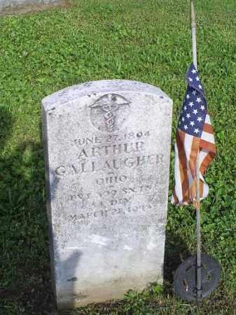 GALLAUGHER, ARTHUR - Ross County, Ohio | ARTHUR GALLAUGHER - Ohio Gravestone Photos