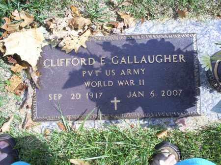 GALLAUGHER, CLIFFORD E. - Ross County, Ohio | CLIFFORD E. GALLAUGHER - Ohio Gravestone Photos