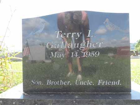 GALLAUGHER, TERRY L. - Ross County, Ohio | TERRY L. GALLAUGHER - Ohio Gravestone Photos