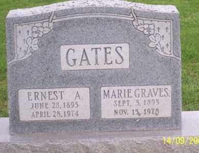 GRAVES GATES, MARIE - Ross County, Ohio | MARIE GRAVES GATES - Ohio Gravestone Photos