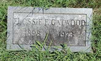 GATEWOOD, FLOSSIE F - Ross County, Ohio   FLOSSIE F GATEWOOD - Ohio Gravestone Photos