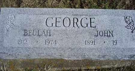 GEORGE, BEULAH - Ross County, Ohio | BEULAH GEORGE - Ohio Gravestone Photos