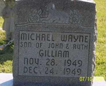 GILLIAM, MICHAEL WAYNE - Ross County, Ohio   MICHAEL WAYNE GILLIAM - Ohio Gravestone Photos