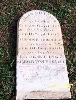 FRIEDRICH, THEODOR - Ross County, Ohio | THEODOR FRIEDRICH - Ohio Gravestone Photos