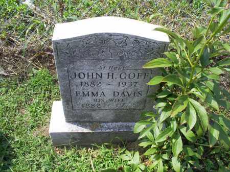 GOFF, JOHN H. - Ross County, Ohio | JOHN H. GOFF - Ohio Gravestone Photos