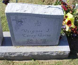 GOINS, VIRGINIA J. - Ross County, Ohio   VIRGINIA J. GOINS - Ohio Gravestone Photos
