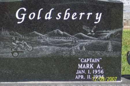 "GOLDSBERRY, MARK A. ""CAPTAIN"" - Ross County, Ohio | MARK A. ""CAPTAIN"" GOLDSBERRY - Ohio Gravestone Photos"