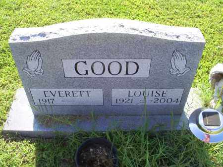GOOD, LOUISE - Ross County, Ohio | LOUISE GOOD - Ohio Gravestone Photos