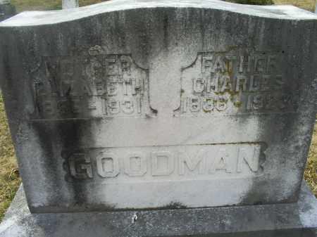 GARRETT GOODMAN, ELIZABETH - Ross County, Ohio | ELIZABETH GARRETT GOODMAN - Ohio Gravestone Photos